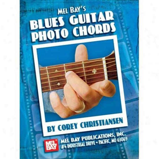 Mel Bay 21293 Blues Guitar Photo Chords Book