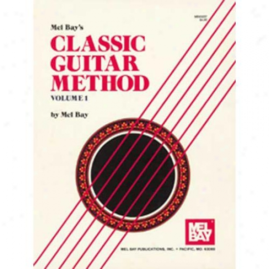 Mel Bay 93207 Classic Guitar Order Volume 1 Book