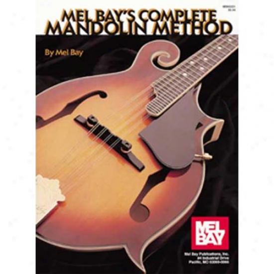 Mel Bay 93221 Complete Mandolin Method Book