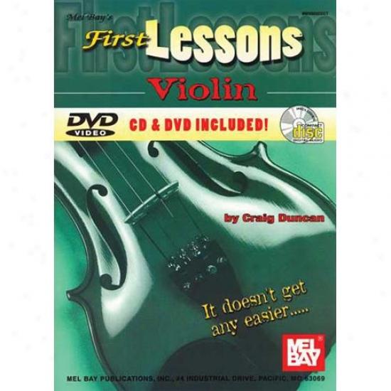 Mel Bay First Lessons Violih Book/cd/dvd Set