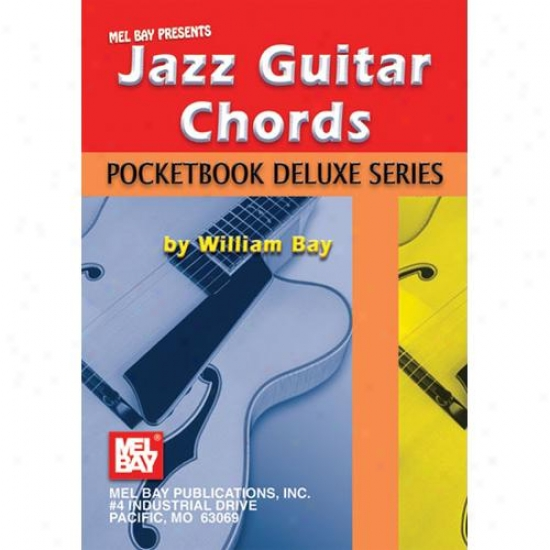 Mel Bay Jazz Guitar Chords - Pocketbook Deluxe Succession
