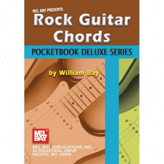 Mel Bay Rock Guitar Chords - Pocketbook Deluxe Series