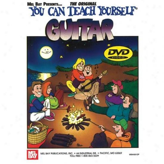 Mel Bay You Can Teach Yourself Guitar Book/dvd Set