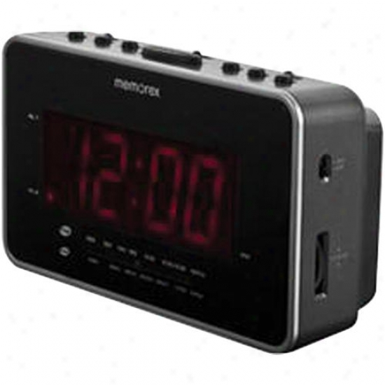 Memorex Am/fm Clock Radio Largge Led