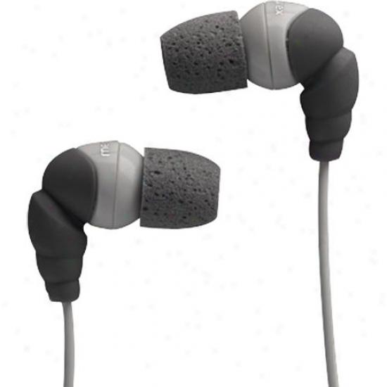 Memorex In-earheadphns-foam Tip Black