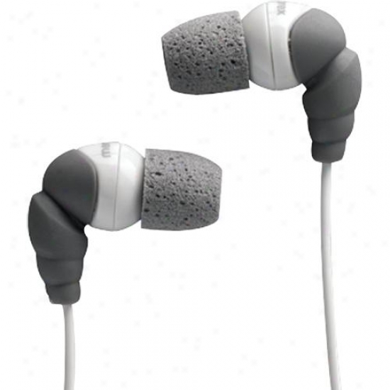 Memorex In-earheadphns-foam Tip Gray