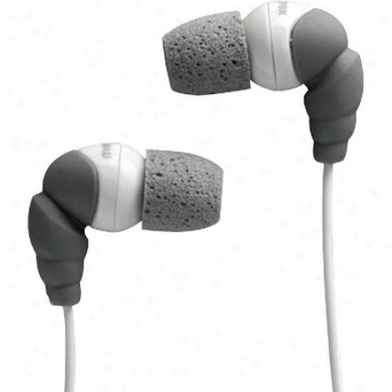 Memorex In-earheadphns-foam Tip Gray