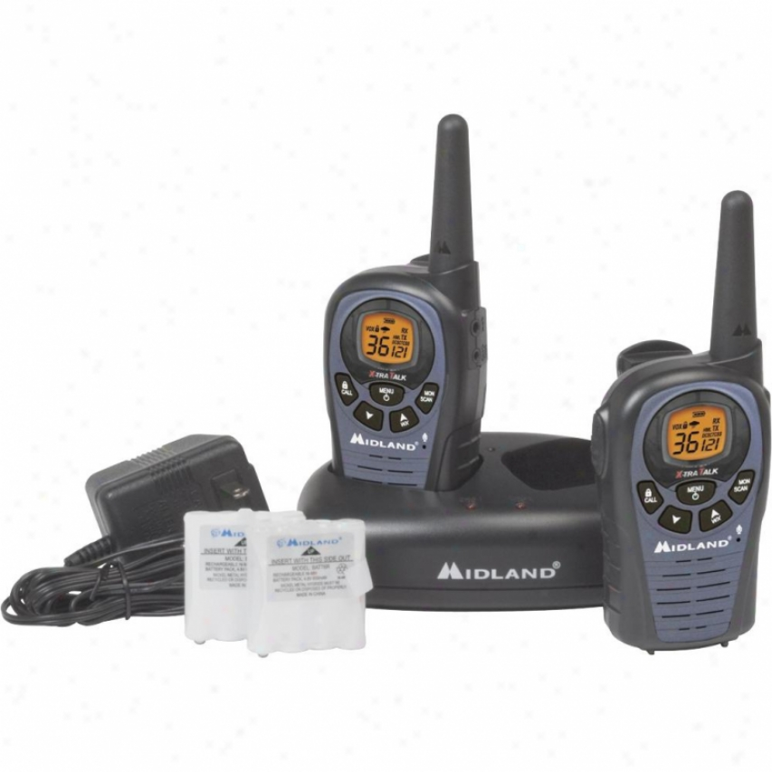 Midland 26-mile 36-channel Frs/gmrs Two-way Radio (pair) Lxt490vp3