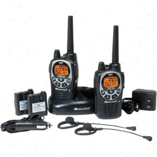 Midland 36-mile 50-channel Frs/gmrs Two-way Radio (pair) Gxt1000vp4