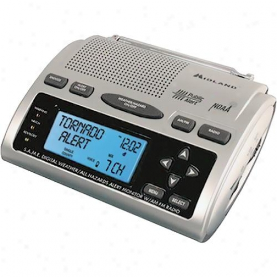 Midland Weather Am/fm Radio With Clock And Alarm Wr300