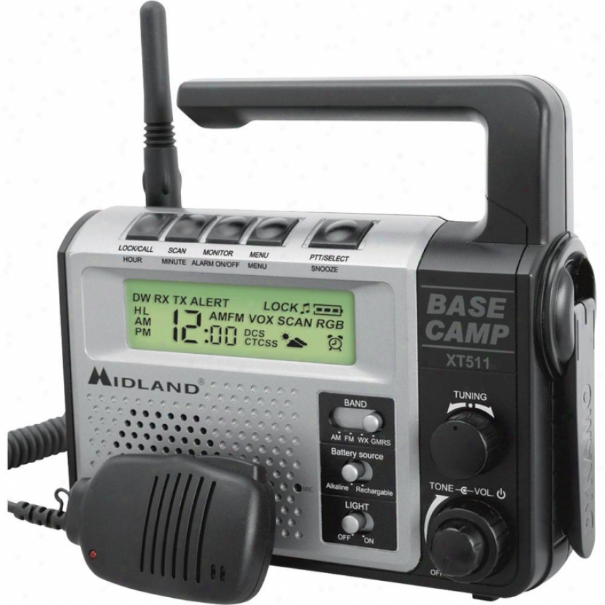 Midland Xt511 22-channel Frs/gmrs 2-way Radio