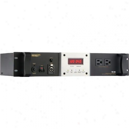 Monster Cable 600004-00 Pro 3500 Rack Mountable Powercenter