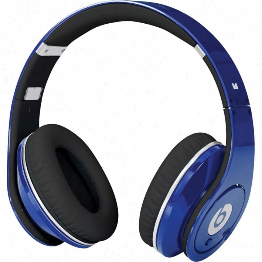 Monster Cablw Beats By Dr. Dre Studio Powered Loneliness Headphone - Blue