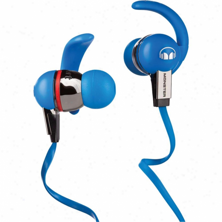 Monster Cable Isport Immersion In-ear Headphones W/ Controltalk - Ble