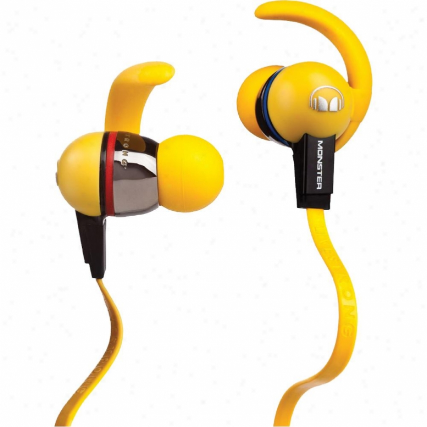Monster Cable Isport Livestrong In-ear Headphones W/ Controltalk