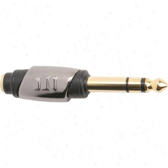 Monster Cable Open Box 600452-00 1/4 St Male To 1/8 St Female - Cablelinks Singl