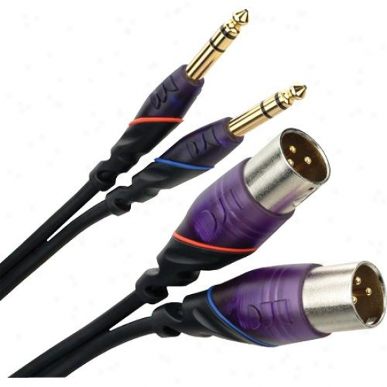 "Monster Cable Open Box 607133-00 Rca To 1/4""- Dj Cablea"