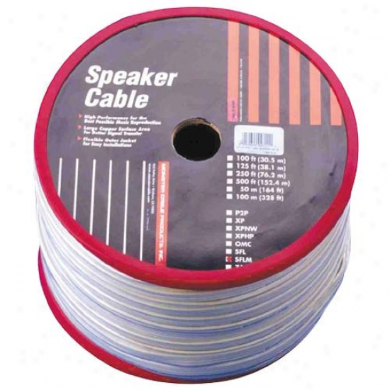 Monster Cable Sflmgp-50 - Mini Out-fo-eall Speaker Telegraph