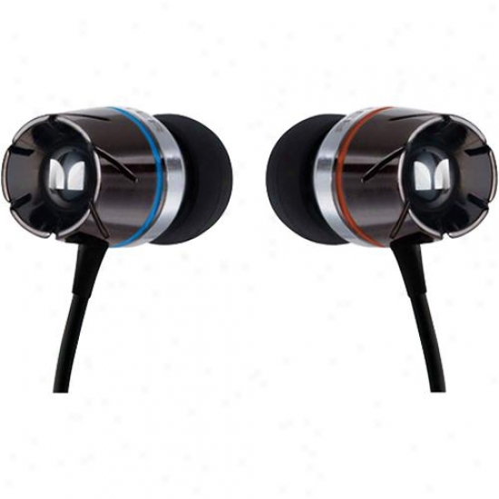Monster Cable Turbine Expressive High Performance In-ear Speakers W/ Controltalk
