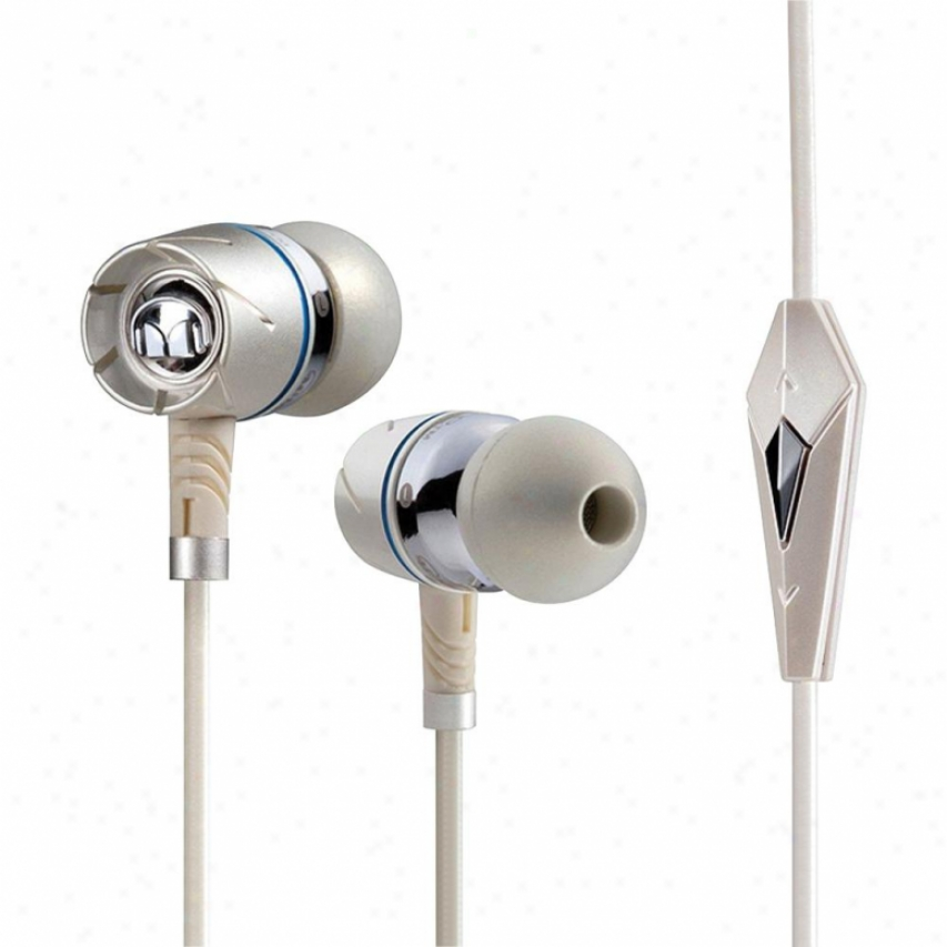 Monster Cable Turbine Pearl High Acting In-ear Speakers W/ Controltalk