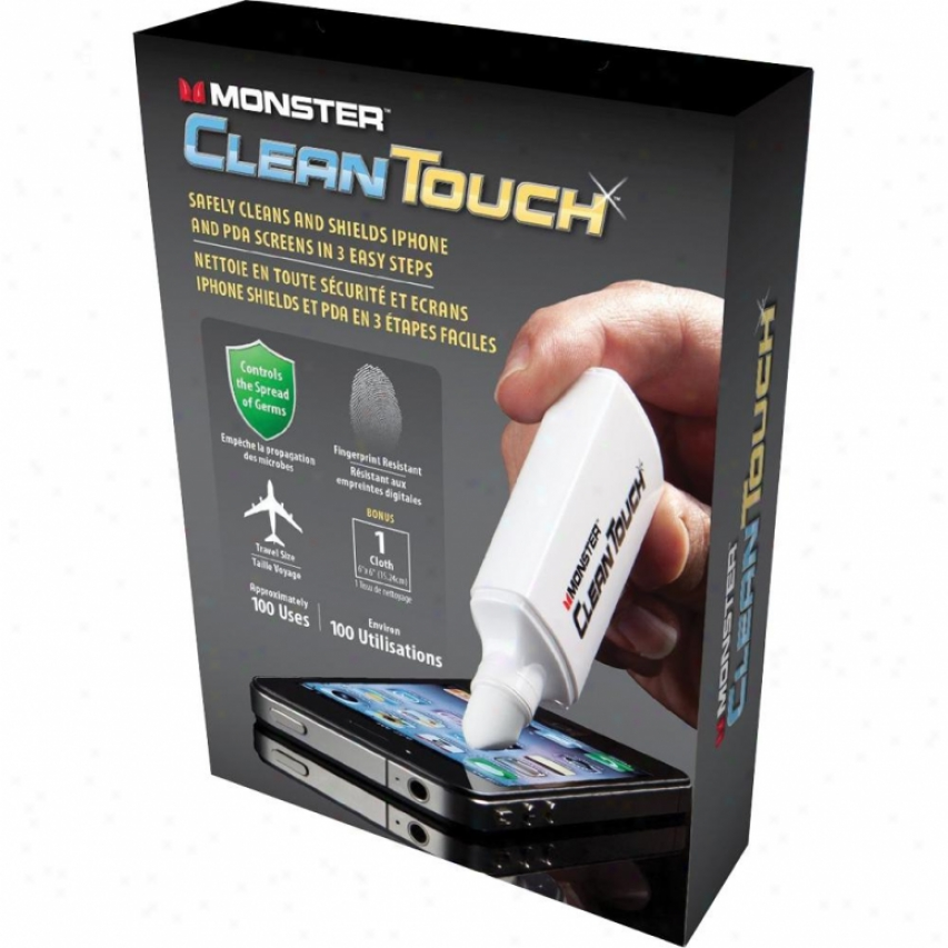 Monster Cable Wccclntchs Western Coast Customs Clean Touch