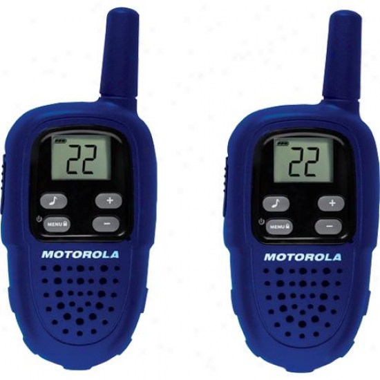 Motorola Fv300 Talkabout 2-way Frs/gmrs Radio - Yoke