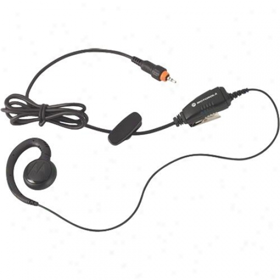 Motorola Hkln4455a Single Pin Adjustable Cord In-line Ptt Earpiece For Clp