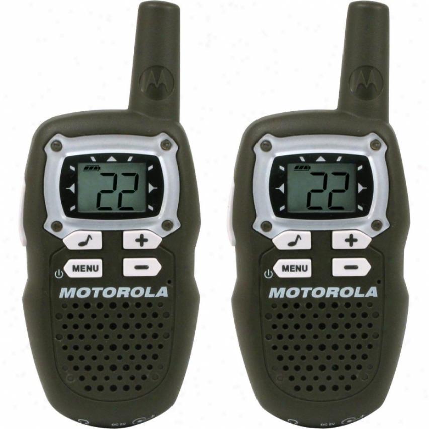 Motorola Mb140r Talkabout 2-way Radios - Pair