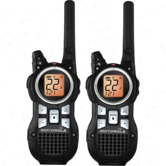 Motorola Mr350r Talkabout 2-way Frs/gmrs Radio - Pair
