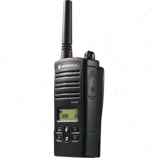 Motorola Rdv2080d Rdx Trade Two-way Radio - Vhf Band