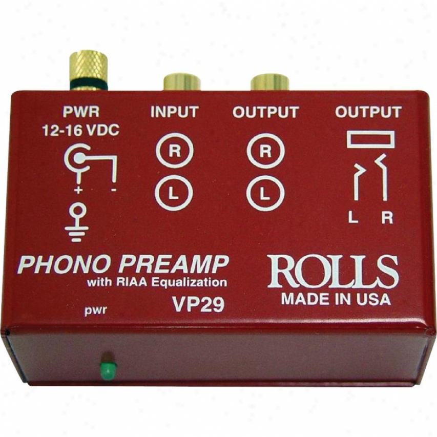 Music Hall Phono Amplifier