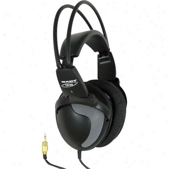 Nady Systems Ambient Open-ear Design Studio Stereo Headphone Qh360
