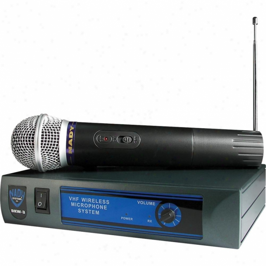 Nady Systems Handheld Vhf Wireless Microphone System - Channel P