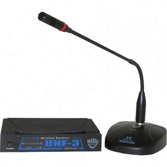 Nady Systems Podium Wireless Microphone System - Uhf-3 Wpm-2u Mu2