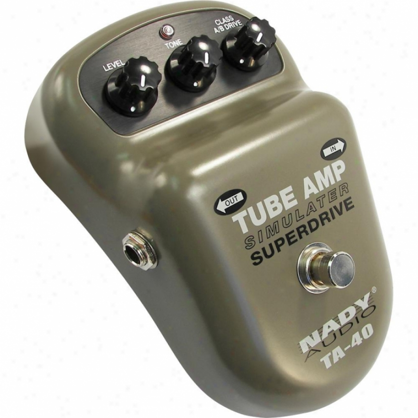 Nady Systems Ta-40 Tube Amp Simulator Superdrive Pedal