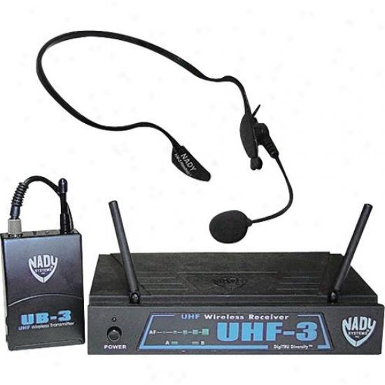 Nady Systems Uhf-3 Lt Mu3 Wireless Unidirectional Microphone System