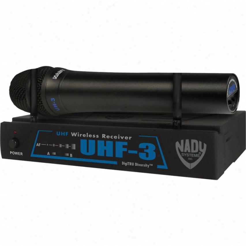Nady Systems Uhf-3ht Uhf Wireless Microphone System