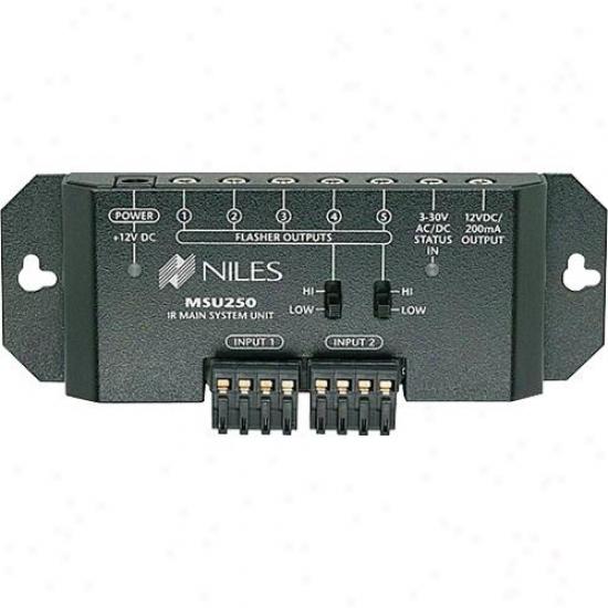 Niles Audio Msu250 Pair Zone Ir Repeater System Remote Controol Extenders