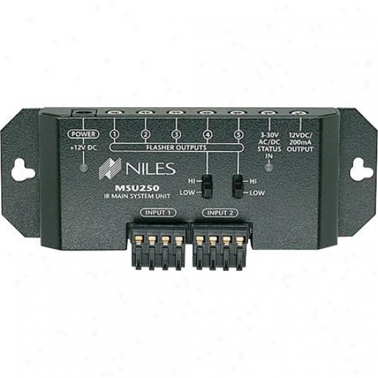 Niles Audio Open Box Msu250 Two Zone Ir Repeater System Remote Control Extenders