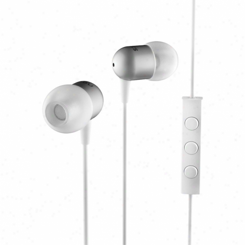 Nocs Ns200 Earphones With Remote & Mic - White