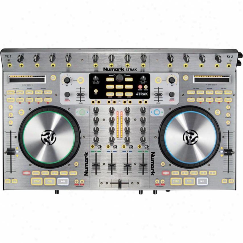 Numark 4trak Digital Dj Controller Mixer