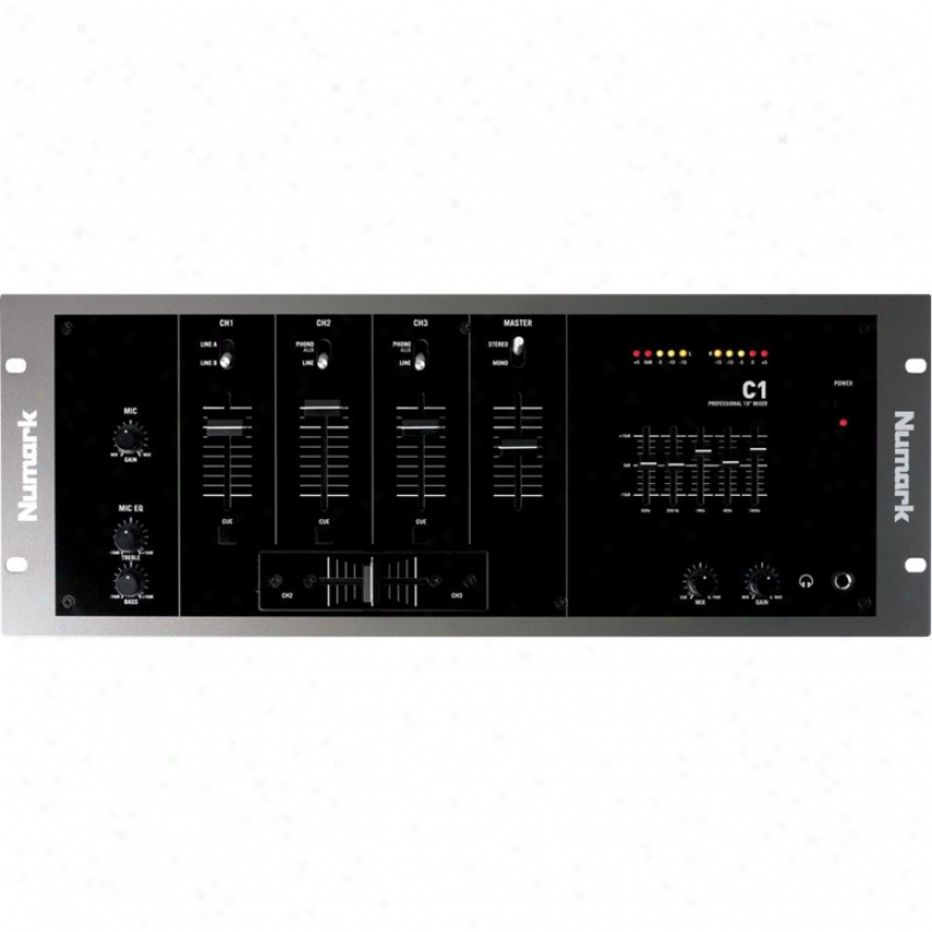 Numark C1 Three-chabnel Rack Dj Mixer