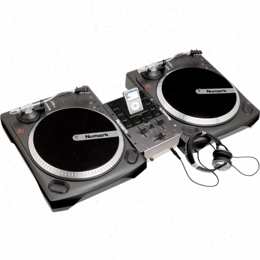 Numark Ibattlepak Vinyl + Ipod Dj Package