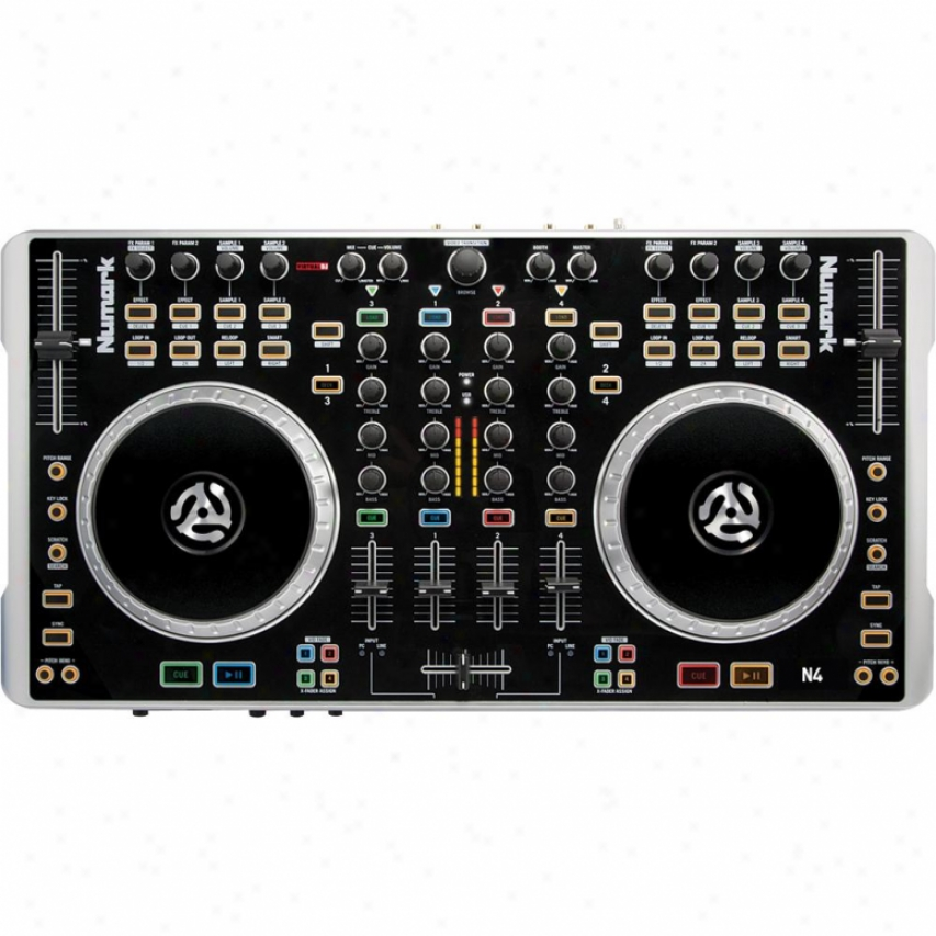 Numark N4 4-deck Digital Controller Mixer