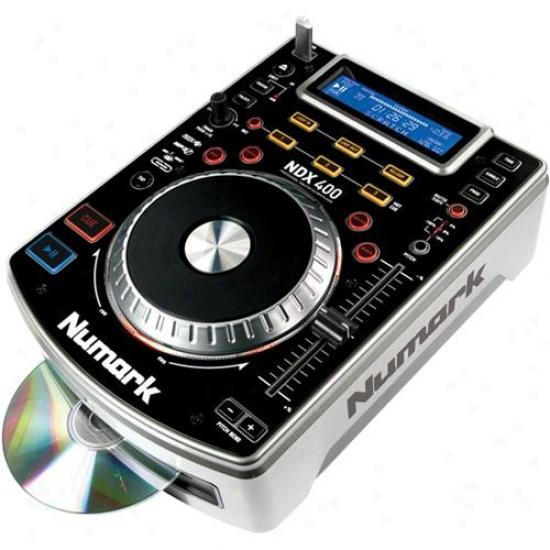 Numark Ndx400 Touch-sensitive Scratch Mp3/cd/usb Player