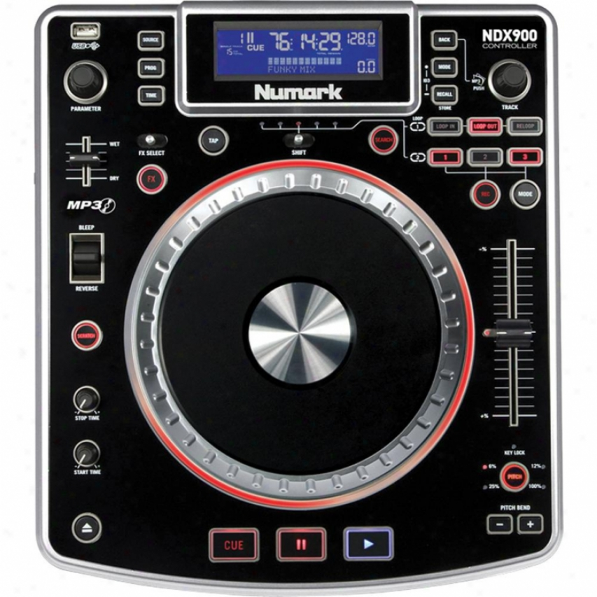 Numark Ndx900 Pro Software Controller W/ Audio Interface