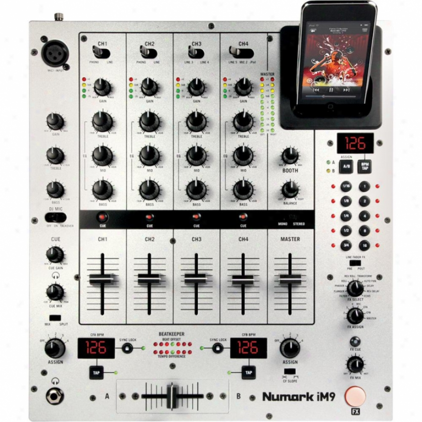 Numark Open Box Im9 4-channel Dj Mixer W/ Effects