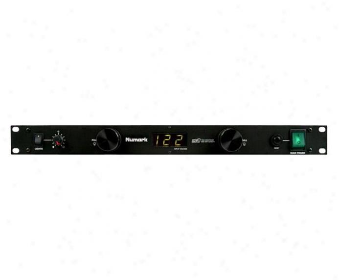 Numark Voltage Display W Line Conditioner