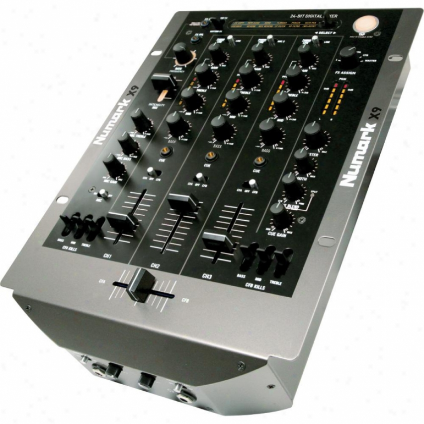 Numark X9 Three-channel Digital Scratch Mixer With Effects