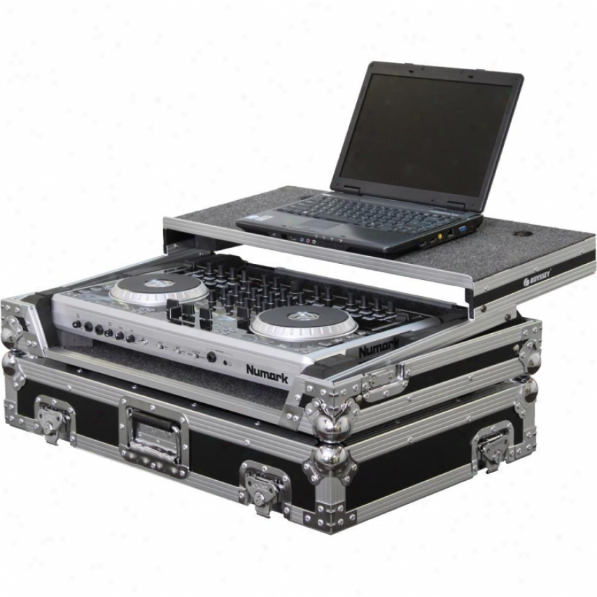 Odyssey Fzgsn4 Flight Zone Glide Style Case For Numark N4